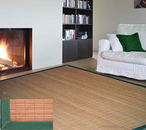 Bamboo cristina carpets for Passatoie ikea
